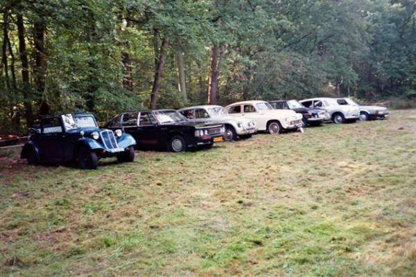"Tatra opstelling bij ""De Oorsprong"""